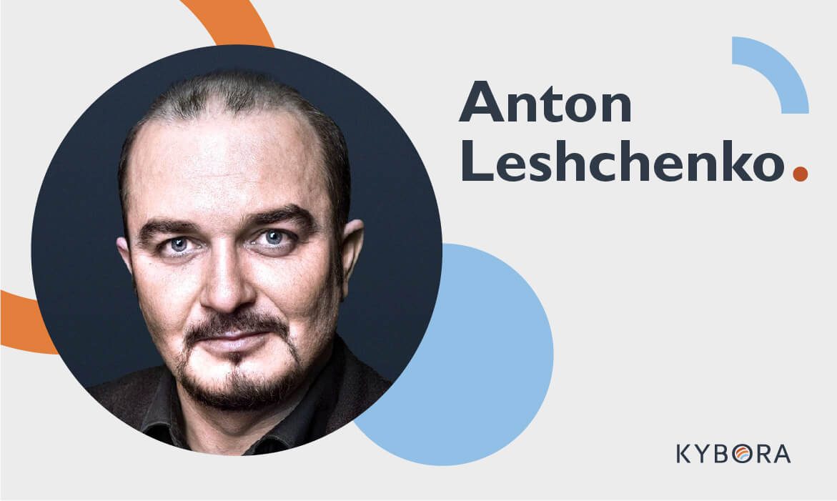 KYBORA Welcomes Anton Leshchenko to the Team